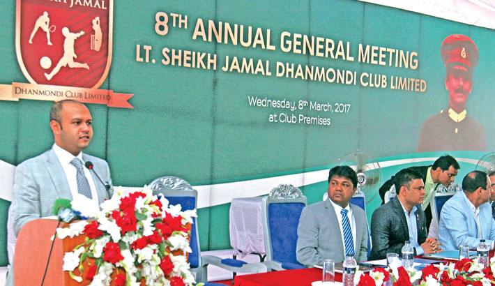 8th Annual General Meeting of Lt. Sheikh Jamal Dhanmondi Club Limited