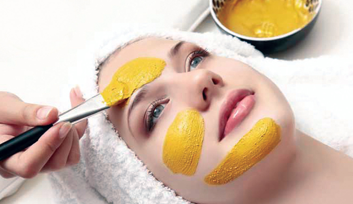 Honey and milk facial