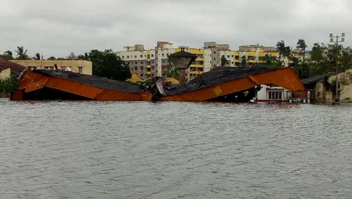 Cyclone Amphan floods Kolkata Airport, damages structures