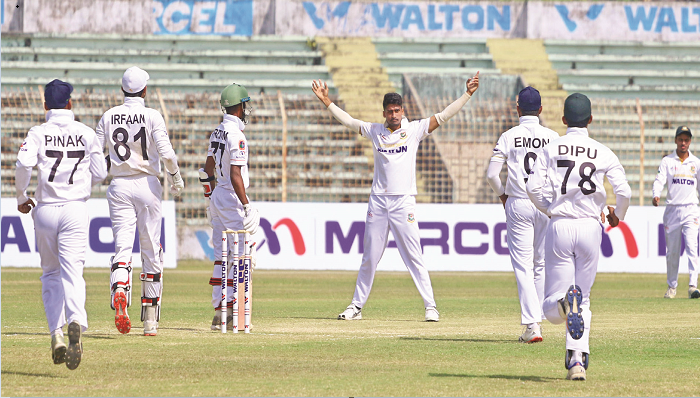 Nazmul, Rana star in wins of Dhaka, Chattogram