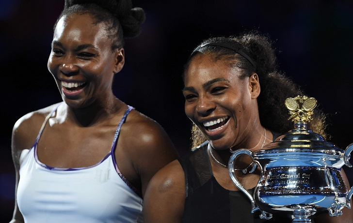 Serena wins Australian Open tennis tournament