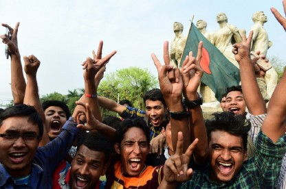 Final day of the 100th Test of Bangladesh against Sri Lanka
