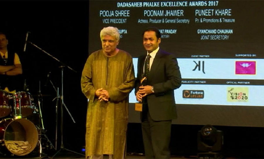 Sayem Sobhan honoured with Dadasaheb Phalke Award