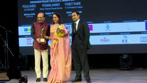 Sayem Sobhan honoured with Dadasaheb Phalke Award