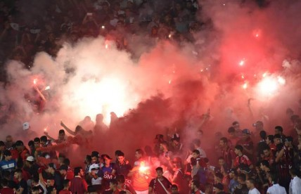 CAF Champions League between USM Alger and Zamalek