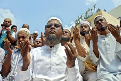 Jummat-Ul-Vida prayers