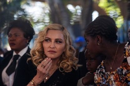 Madonna opens Queen Elizabeth Hospital in Malawi