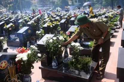 The National Day for war martyrs and invalids in Vietnam