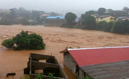 Massive mudslide in Sierra Leone's capital