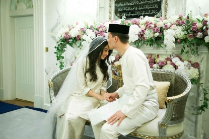 Malaysian princess marries Dutch fiance