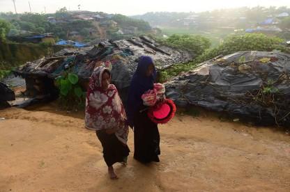 Rohingya newborn bay
