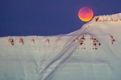Super blue blood moon seen
