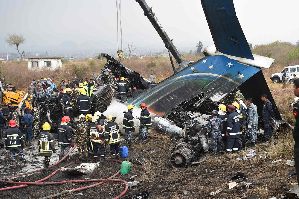 US Bangla Plane crash kills many