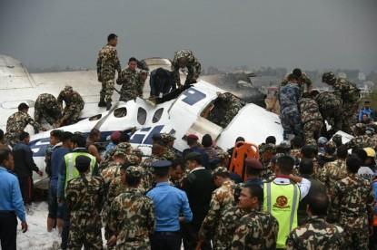 Plane crash in Kathmandu