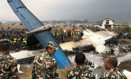US Bangla Plane crash kills many