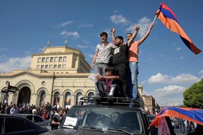 Armenia's mass anti-government protests