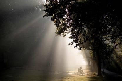Morning in Germany