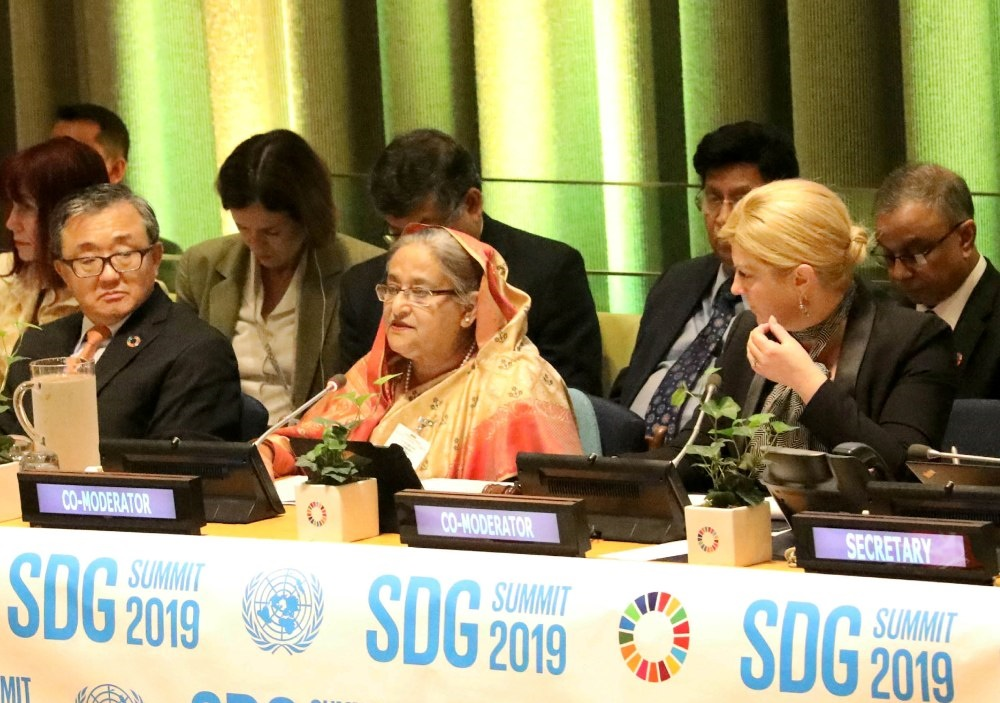 PM Sheikh Hasina in 74th UNGA