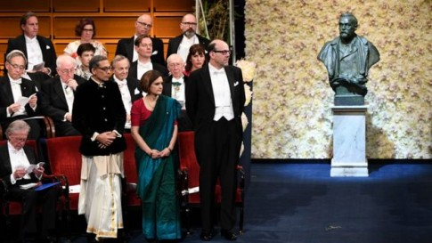 Abhijit Banerjee & Duflo go traditional to receive Nobel Prize