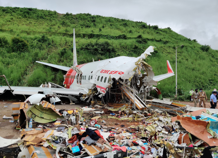 Air India plane crash in Kerala