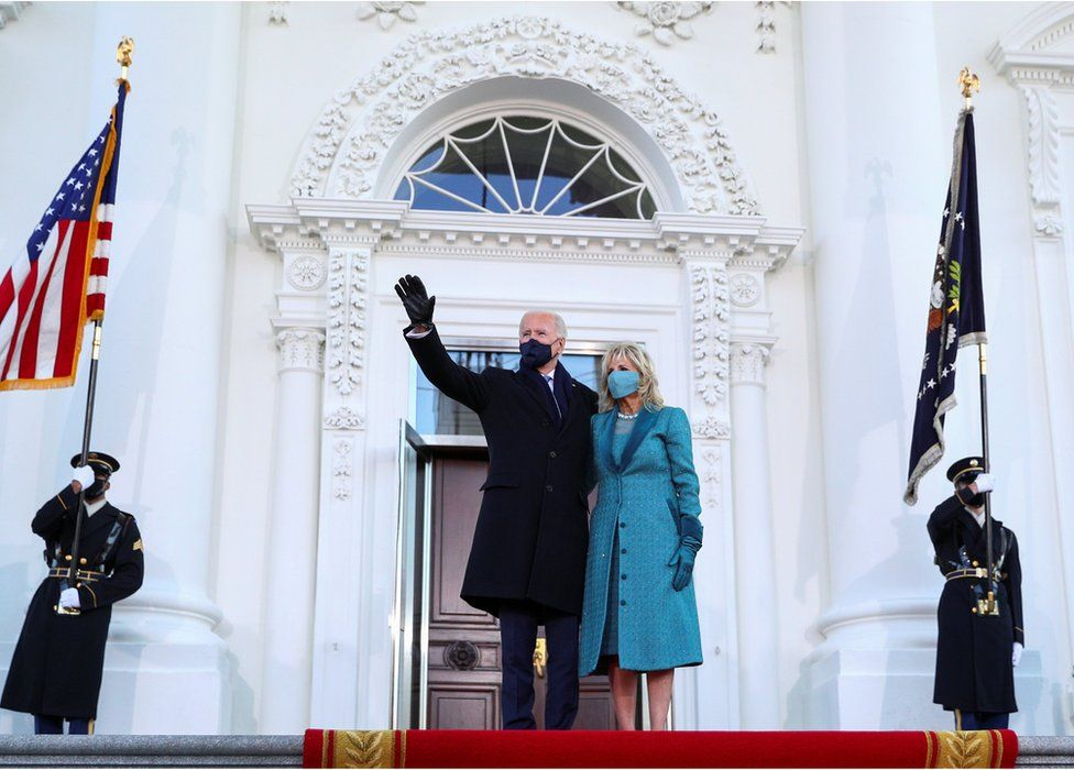 Biden inauguration in pictures