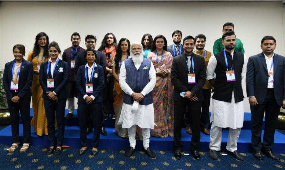 Indian PM Narendra Modi's Dhaka visit