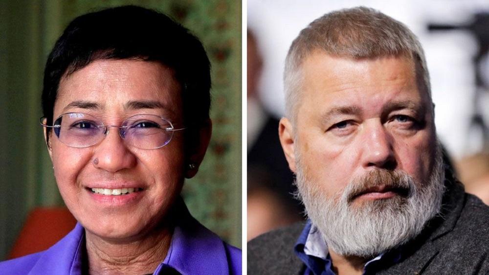Nobel Peace Prize: Journalists Maria Ressa and Dmitry Muratov share award