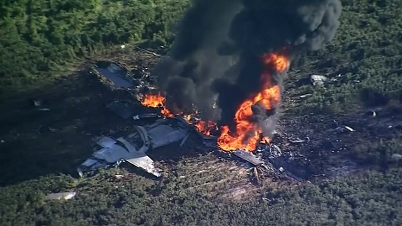 Military C 130 plane of USA crashes in Leflore County Mississippi