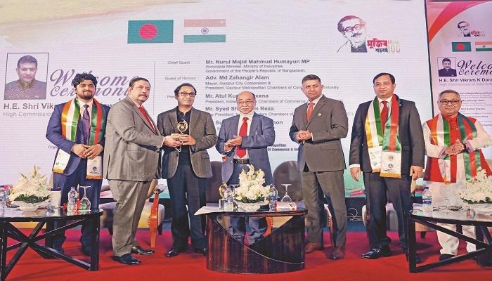 "Bashundhara Group Managing Director Sayem Sobhan Anvir has been accorded ""Best Excellence Award 2021"""
