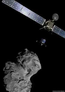 Rosetta\'s spacecraft successfully lands on comet