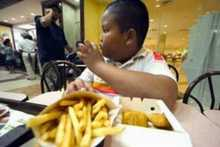 Fast food targeting black kids in US