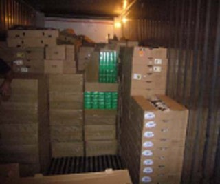 250 cartons smuggled foreign cigarettes seized at Shahjalal