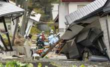 37 homes collapse, dozens injured in Japan quake