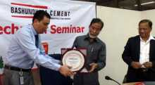'Bashundhara Cement' arranges technical seminar for BR Engineers