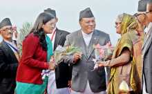 PM reaches Kathmandu to attend Saarc Summit