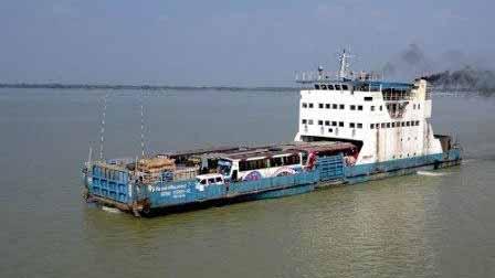 Daulatdia-Paturia ferry services resume