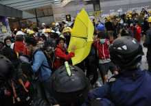 Tensions soar after night of clashes in Hong Kong