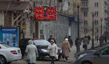 Russian ruble takes a nosedive as oil price drops
