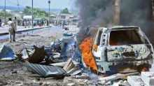 Car bomb targets UN convoy at Somalia