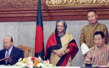 B\'desh-Bhutan ink deals for export of 90 duty-free items