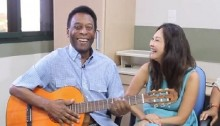 Pele thanks fans in video message