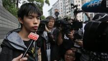 Hong Kong protest leader, Joshua Wong, ends hunger strike