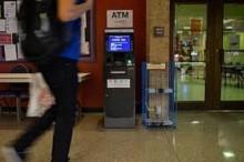 Transactions at ATMs fall 9% in November