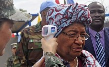 Ebola Scare: Liberian President\'s Son Wants Rally Ban Lifted