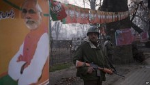 Tight security for India PM Narendra Modi\'s Kashmir rally