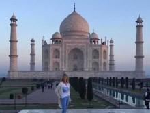 Steffi Graff visits Taj Mahal on maiden India trip