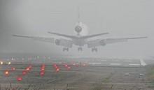 Dense fog caused flight delay  at Shahjalal Airport