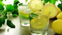 Drink warm water with lime to stay healthy