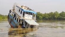 Dead body of sunken oil tanker master recovered from Shela river in Sundarban