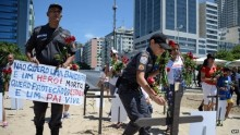 Rio protest: Brazil police demand tougher protection laws